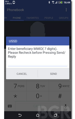USSD Based Mobile Banking